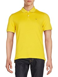 Victorinox Tailored Fit Polo Shirt Luxe Dark Yellow