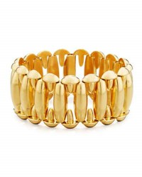 Hays Worthington 18K Yellow Gold Oval Link Bracelet