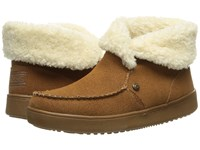 Skechers Cozy High Mittens Chestnut Women's Pull On Boots Brown