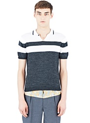 Archive Kolor Knitted Polo Shirt