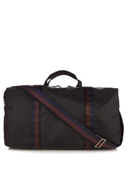 Paul Smith Leather Trimmed Nylon Holdall Black Multi