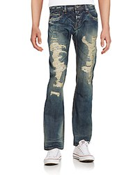 Cult Of Individuality Hagen Distressed Jeans Pepper