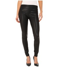 Blank Nyc Vegan Leather Pull On Skinny Black Women's Casual Pants