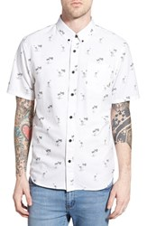 Men's Vans 'Houser' Short Sleeve Print Woven Shirt