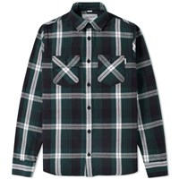 Carhartt Lawler Check Overshirt Green