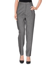 Les Prairies De Paris Trousers Casual Trousers Women Grey