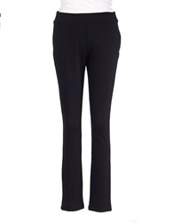 Nydj Petite Knit Ponte Pants Black