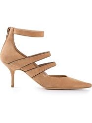 Jean Michel Cazabat 'Jolie' Pump Nude And Neutrals