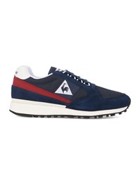 Le Coq Sportif Blue Suede And Mesh Eclat Sneakers