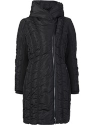 Zac Posen 'Leah' Padded Coat Black