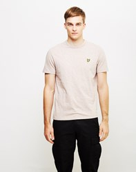 Lyle And Scott Pastel T Shirt Pink