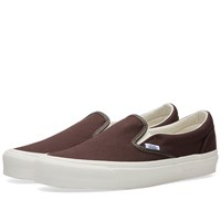 Vans Vault Og Classic Slip On Lx Brown