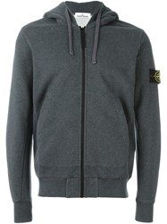 Stone Island Hooded Sweater Grey