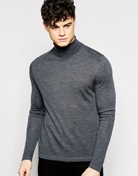 Dkny Turtleneck Jumper Grey