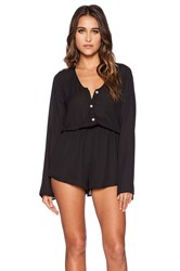 Show Me Your Mumu Red Rocks Rompers Black