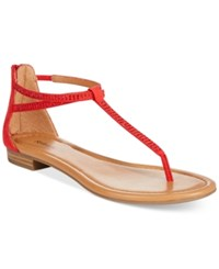 Styleandco. Style And Co. Brinna Embellished Thong Sandals Only At Macy's Women's Shoes