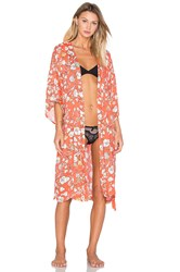 Minkpink Robe Orange