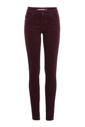 Zadig And Voltaire Corduroy Skinny Pants Purple