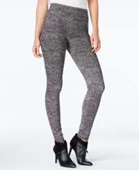 Bar Iii Printed Leggings Only At Macy's Black Combo