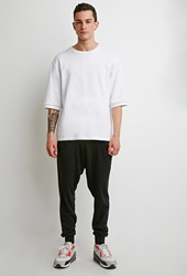 Forever 21 Drop Pocket Sweatpants Black