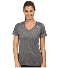 2Xu Movement Tee Ink Moon Grey Women's T Shirt Gray