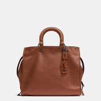 Coach Rogue Bag 36 In Glovetanned Pebble Leather Brown
