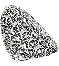 Thomas Sabo Ethno Ornamentation Sterling Silver Cocktail Ring