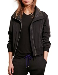 Lauren Ralph Lauren Funnelneck Full Zip Jacket Black