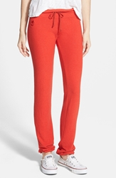Wildfox Couture Basic Sweatpants Hot Lipstick Polydye