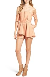 C Meo Collective Women's Need Nobody Strapless Romper