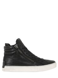 Crime 40Mm Leather High Top Sneakers