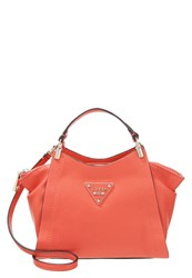 Guess Thompson Handbag Coral Light Red
