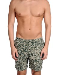 Carhartt Swimwear Swimming Trunks Men Military Green