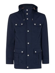 Howick Fleetwood Hooded Jacket Navy