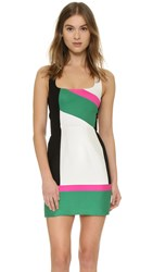 Dsquared Colorblock Sheath Dress Multi