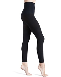 Commando 110 Denier Opaque Control Footless Tights Black Small
