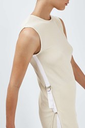 Boutique Rib Knit Vest By Champagne
