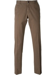 Incotex Chino Trousers Brown