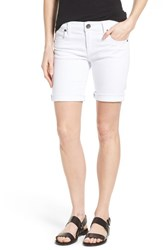 Women's Kut From The Kloth Denim Boyfriend Shorts White