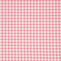 Unbranded Cotton Gingham Fabric Pink