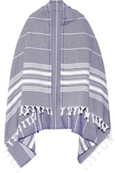 Finds Fringed Striped Cotton Scarf