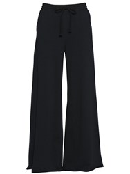 Diesel Wide Leg Cotton Jersey Trousers
