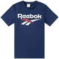 Reebok Chest Vector Graphic Tee Blue