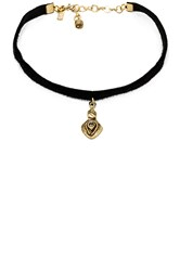 Vanessa Mooney Teardrop Choker Black