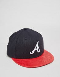 New Era 59 Fifty Fitted Cap Diamond Atlanta Braves Black