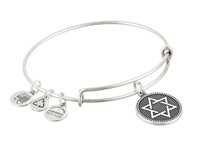 Alex And Ani Star Of David Charm Bangle Ii Rafaelian Silver Finish Bracelet