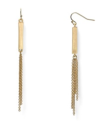 Dylan Gray Tassel Bar Earrings Bloomingdale's Exclusive Gold