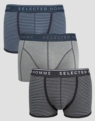 Selected 3 Pack Trunks Grey