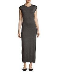 Candc California Jewelneck June Gown Charcoal