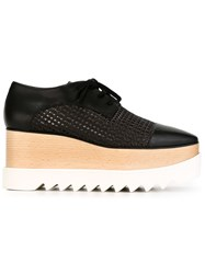 Stella Mccartney 'Elyse' Straw Shoes Black